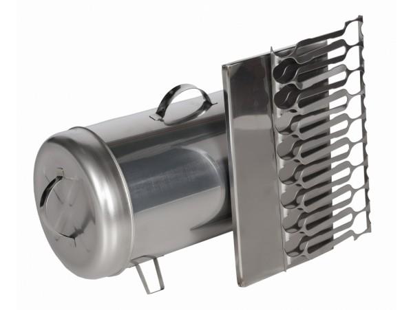 Коптильня цилиндрическая из нержавеющей стали 200 мм